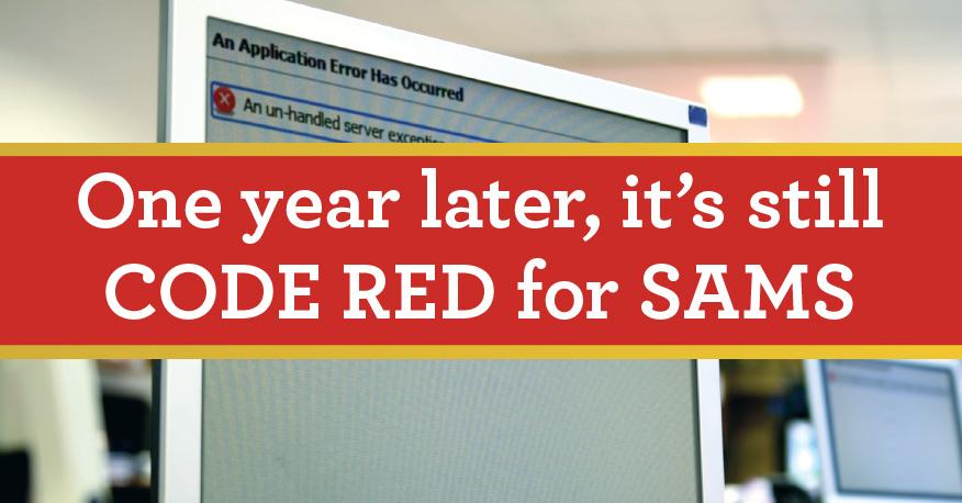 SAMS Code Red