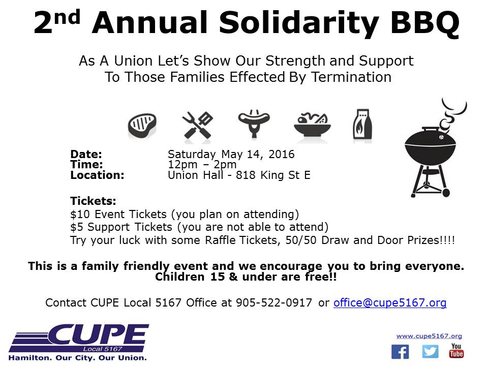2nd Annual Solidarity BBQ