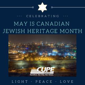Canadian Jewish Heritage Month